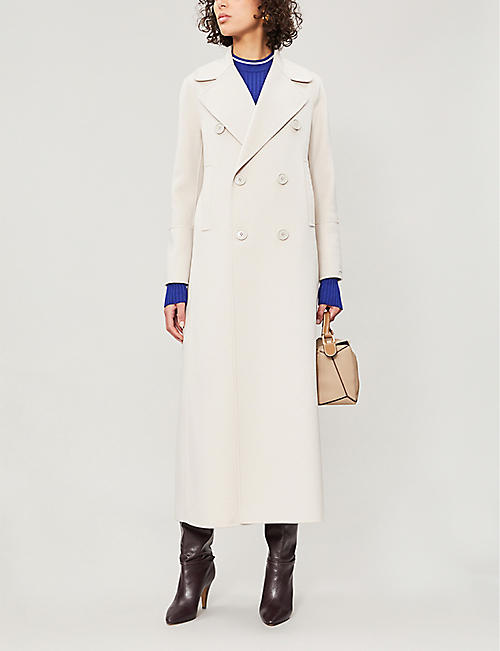 b549cf0acad0 S MAX MARA Custodi double-breasted brushed wool coat