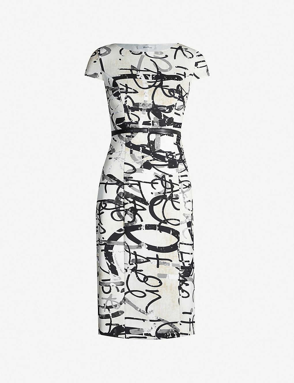 364a62e2eef MAX MARA - Graffiti-print stretch-jersey midi dress