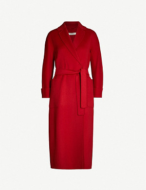 S MAX MARA Algeri wool wrap coat