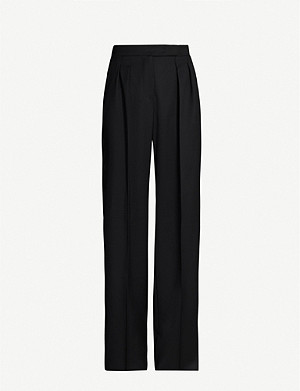 MAX MARA Ardea high-rise relaxed-fit wool trousers