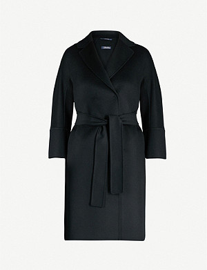 S MAX MARA Arona single-breasted wool coat