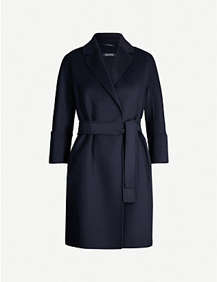 S MAX MARA: Arona single-breasted wool coat