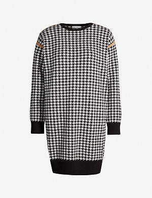 MAX MARA Canale wool and cashmere-blend jumper dress
