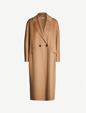 S MAX MARA Cardi double-breasted wool coat