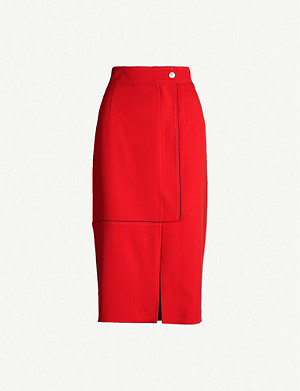 SPORTMAX High-waist stretch-jersey pencil skirt