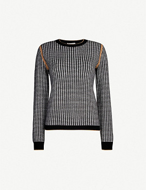 MAX MARA Colle wool-and-cashmere blend jumper