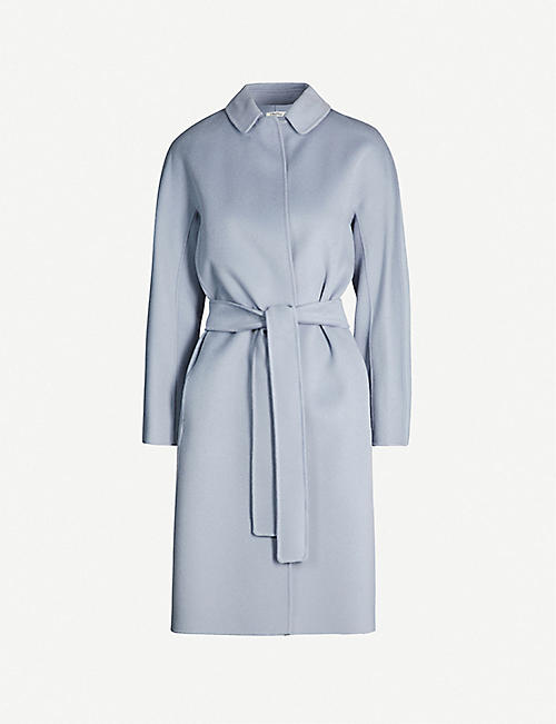 S MAX MARA: Doraci wool wrap coat