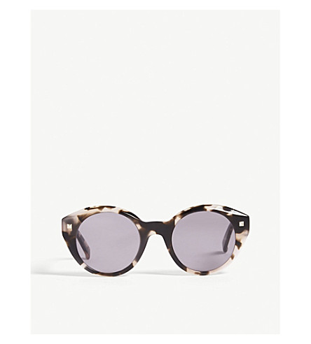 63104f9bb3f MAX MARA Dots round-frame sunglasses (Tawny+sand
