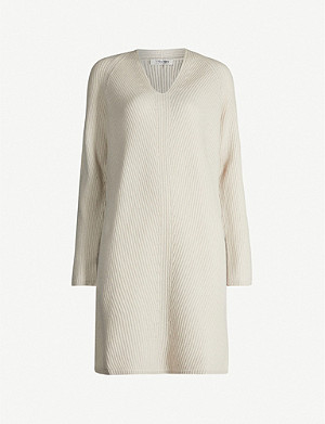 S MAX MARA Elba wool and cashmere-blend dress