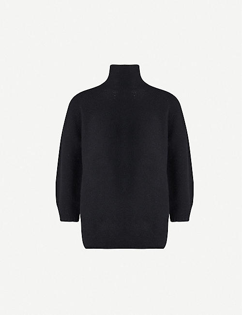 MAX MARA: Etrusco wool and cashmere-blend turtleneck jumper