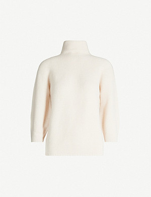 MAX MARA Etrusco wool and cashmere-blend turtleneck jumper