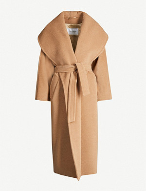MAX MARA Fretty oversized relaxed-fit wool coat