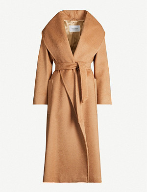 MAX MARA Gufo relaxed-fit wool coat