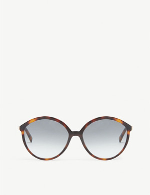 MAX MARA Butterfly-frame sunglasses