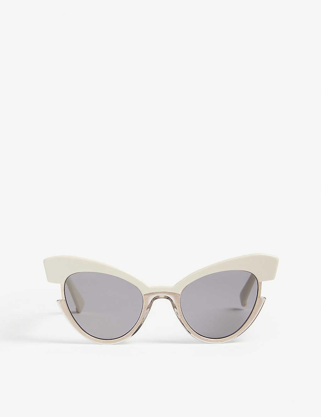7ac81b7e7417 MAX MARA - Ingrid cat-eye sunglasses   Selfridges.com