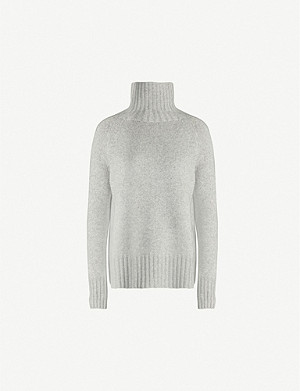 S MAX MARA Mantova turtleneck wool and cashmere-blend jumper
