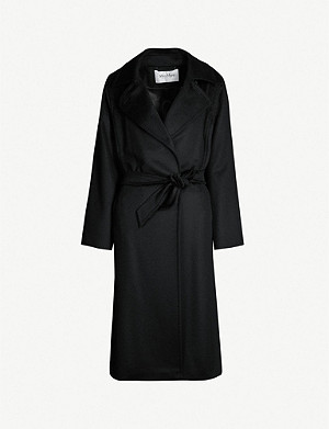 MAX MARA Manuela camel hair wrap coat