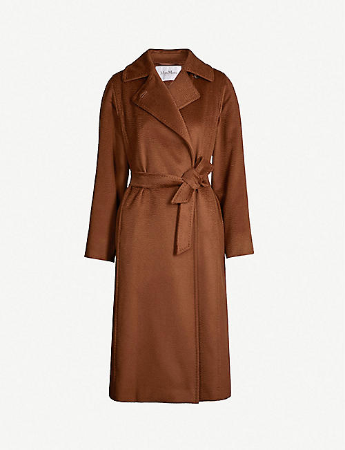 99f3906a2815 MAX MARA Manuela camel hair wrap coat