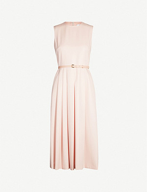 MAX MARA Mimma pleated wool dress
