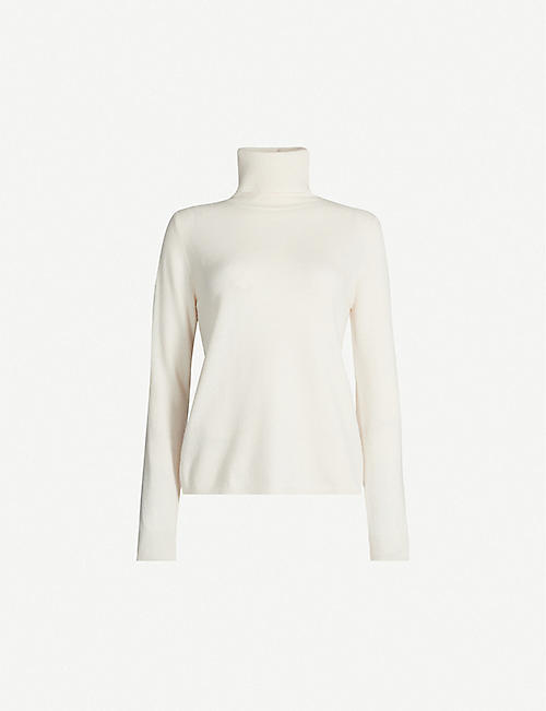 MAX MARA STUDIO Navata turtleneck wool and cashmere-blend jumper