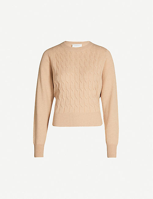 SPORTMAX Rana wool and cashmere-blend jumper