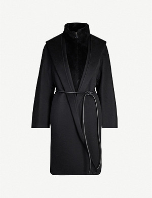 MAX MARA ATELIER Revere relaxed-fit double-layered cashmere coat