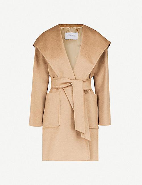 MAX MARA Rialto wrap-over camel hair coat. Quick view Wish list 0a5346c53