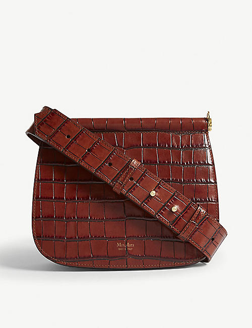 MAX MARA Sylvia leather cross-body bag