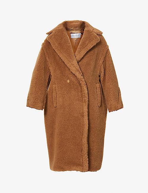 a0b8ae3ea8f MAX MARA Teddy camel-blend coat