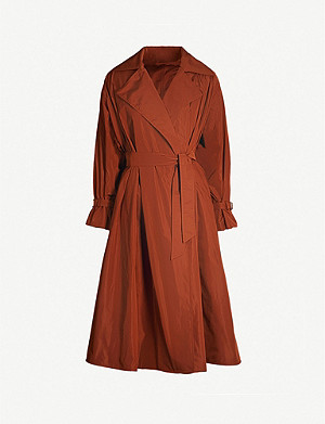 MAX MARA Uva oversized shell coat