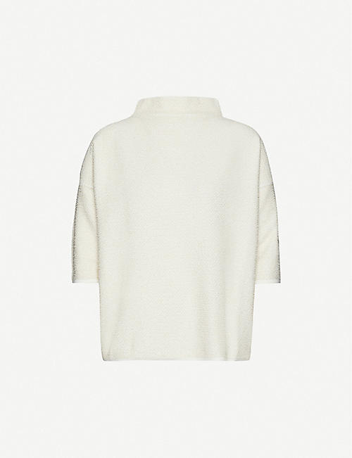 SPORTMAX Vodka knitted jumper