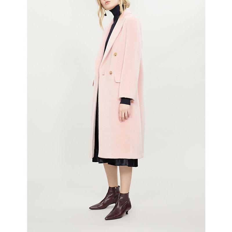 Mmm M 2 Coa Alpaca Dbl Brst, Pink