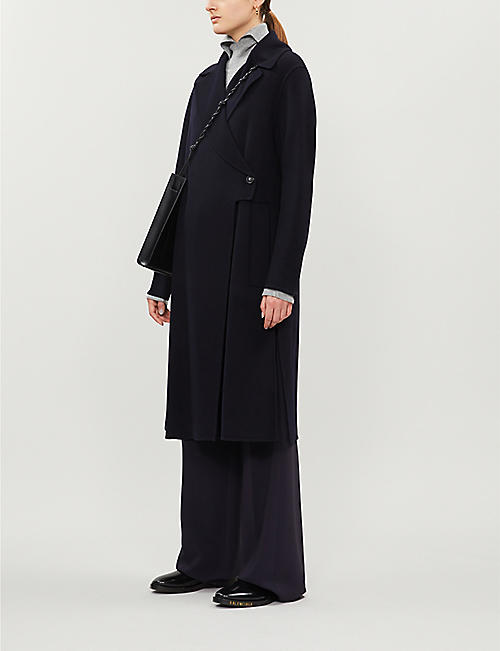 SPORTMAX Zeo wool and cashmere-blend coat