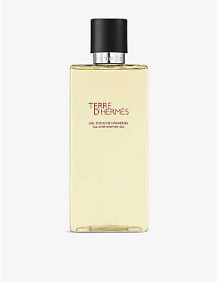 HERMES: Terre d'Hermès all-over shower gel 200ml