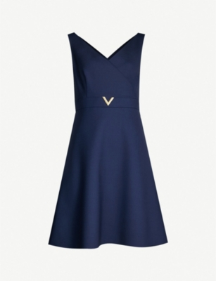 VALENTINO Stretch-wool dress