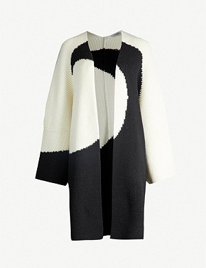 VALENTINO Graphic wool cardigan