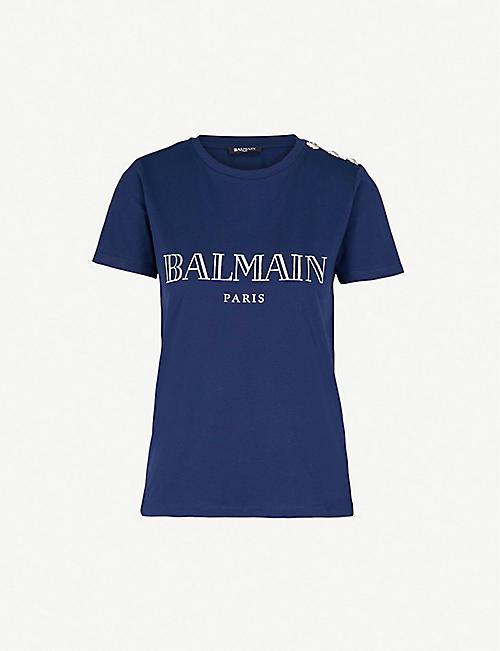 Balmain - Womens Jackets, Mens Clothing   more   Selfridges a9c29f1fee