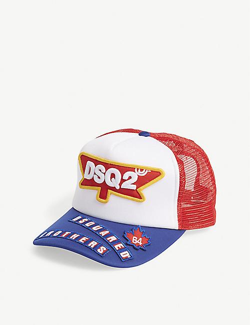 bf99d2d04ec DSQUARED2 Logo trucker snapback cap