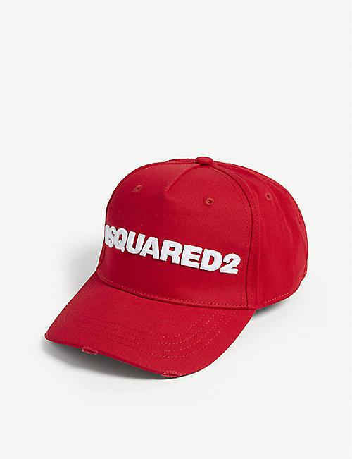 9ecfff564f5 DSQUARED2 Logo cotton baseball cap