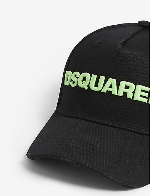 DSQUARED2 Logo cotton baseball cap