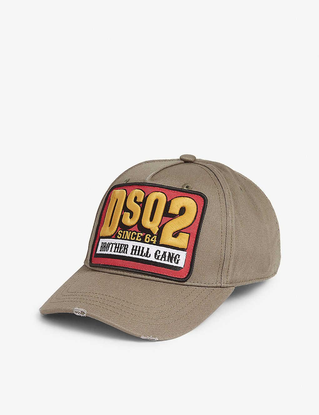55d756da5 DSQUARED2 - Brother Hill Gang cotton baseball cap   Selfridges.com