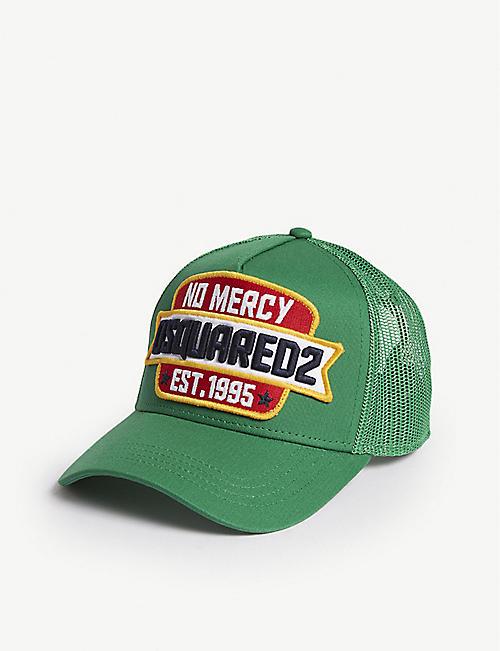 DSQUARED2 No Mercy cotton-blend baseball cap 74e064453d2a