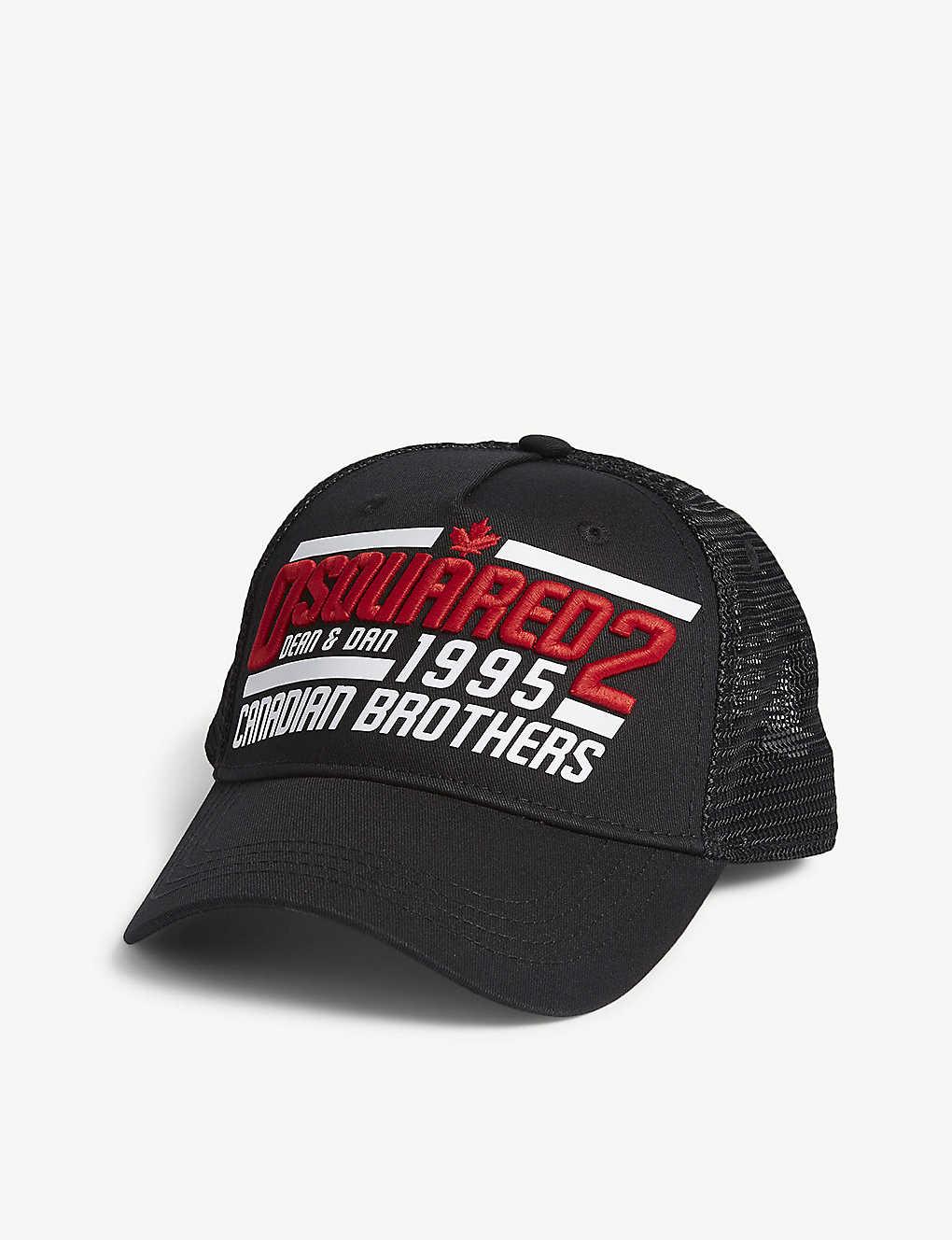 30394f7db3ac4 DSQUARED2 - Canadian brother trucker cap