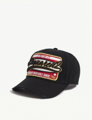 DSQUARED2 Branded cotton cap