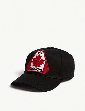 DSQUARED2 ACC Happy flag baseball cap
