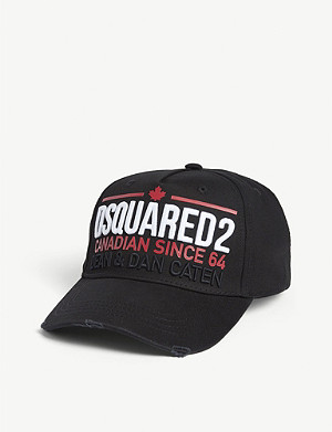 DSQUARED2 ACC Logo cotton cap