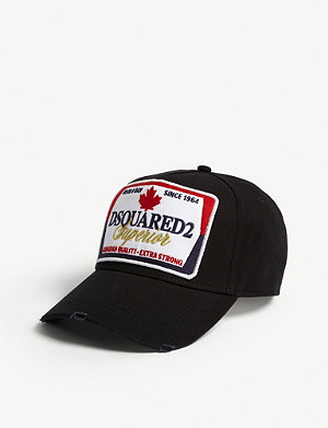 DSQUARED2 ACC Superior cotton baseball cap