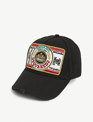 DSQUARED2 ACC Beer mat cotton cap