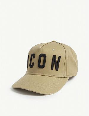 46974aba569 DSQUARED2 Icon-embroidered cotton baseball cap