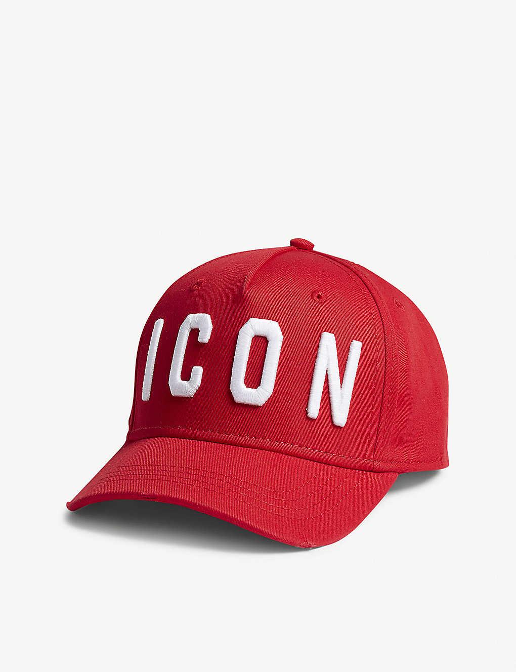 6e5170a2 DSQUARED2 - Icon cotton cap | Selfridges.com